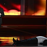 Jimmy Kimmel asked Tracy Morgan to pretend that he passed out — then requested that viewers tweet about it.
