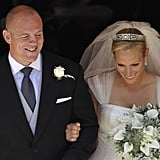 Zara and Mike are married!