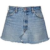 Don't Touch Denim Skirt ($150)