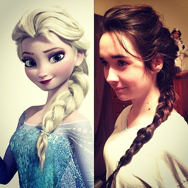 Get an Elsa- or Anna-Inspired Updo