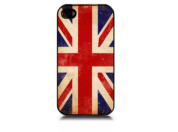 Distressed Union Jack iPhone Cover ($13)