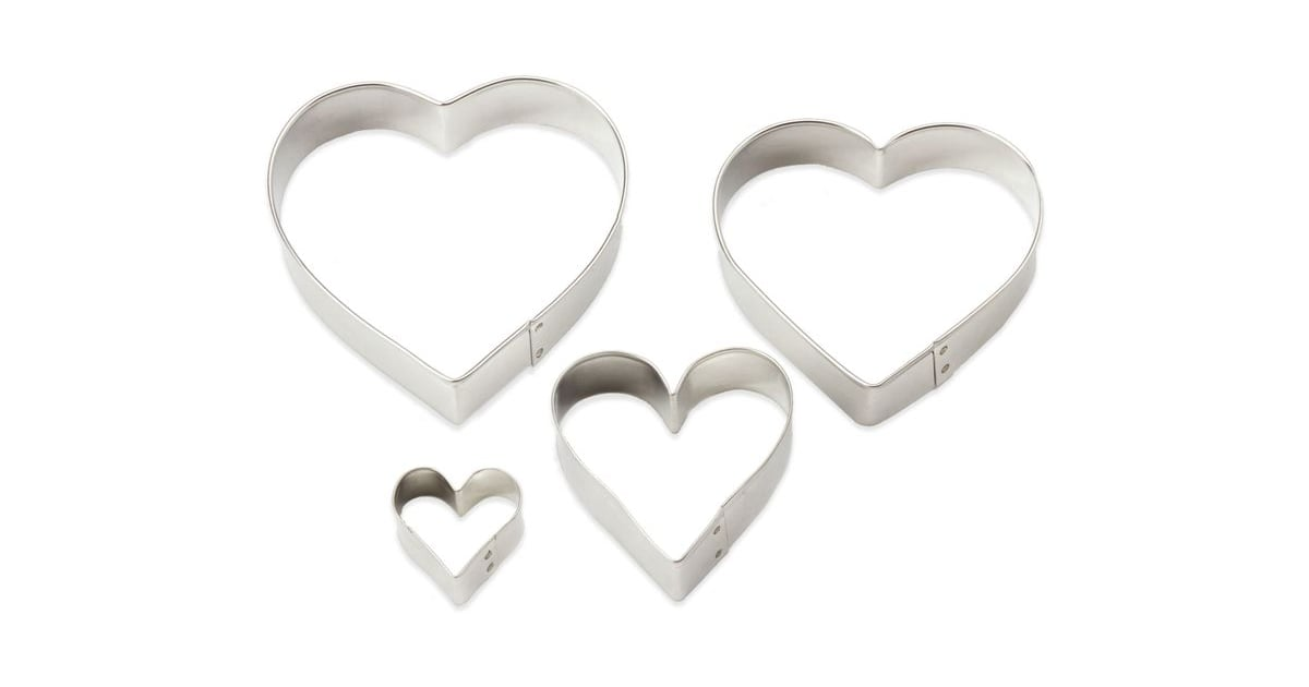 Bed Bath Beyond Ann Clark 4 Piece Heart Shaped Cookie Cutter Set 35 Heart Shaped Kitchen Tools Every Foodie Needs For Valentine S Day Popsugar Food Photo 28