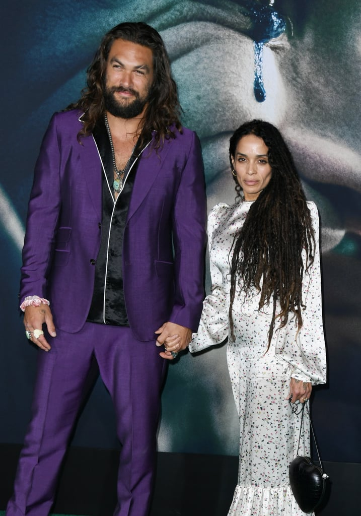Jason Momoa and Lisa Bonet at the Joker Movie Premiere in September 2019