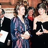Princess Diana, Princess Grace of Monaco, and Prince Charles