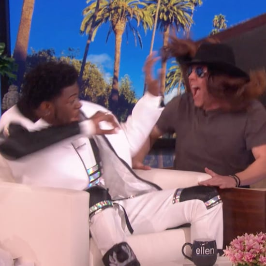 Watch Ellen DeGeneres Scare Lil Nas X on Her Talk Show