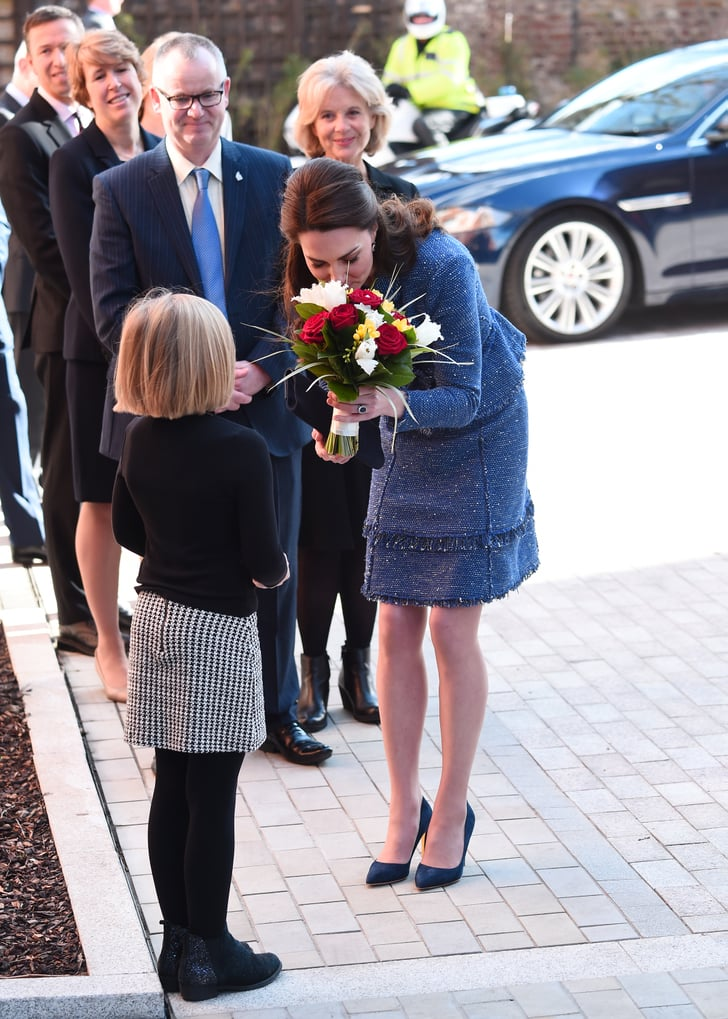 Kate Middleton At Ronald Mcdonald House In London Feb