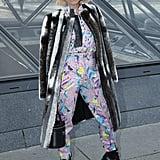 Noomi Rapace at Louis Vuitton Fall 2019