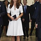 Kate Wearing Her McQueen Look in 2012
