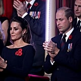 Kate Middleton and Prince William at the Festival of Remembrance 2019