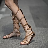 When it comes to sandals, this Summer is all about the gladiator.