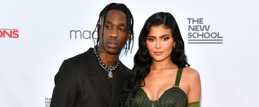 Kylie Jenner, Travis Scott Bring Stormi to Parsons Benefit