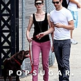 Anne Hathaway and Adam Shulman Share Some Summer Lovin'