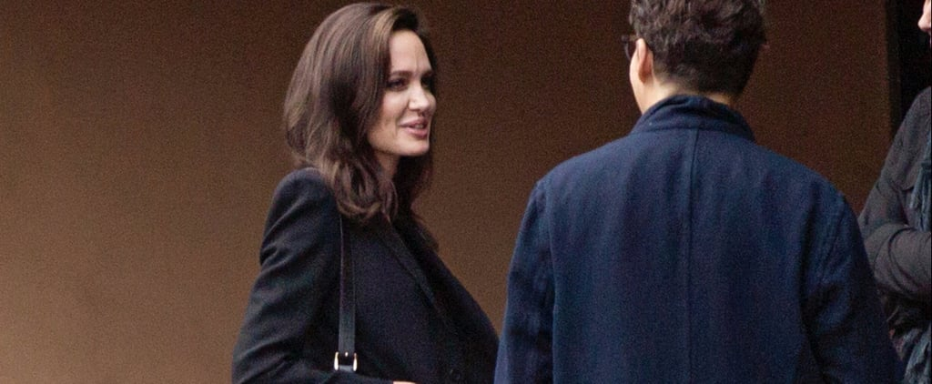 Angelina Jolie's Work Tote Is a Bag You Might Not Think to Bring to the Office