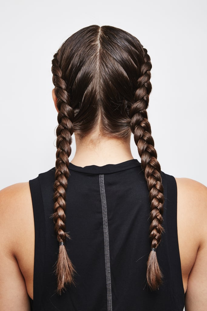 Double Dutch French Braids: Final Look
