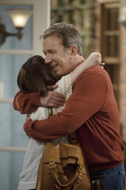 Molly Ephraim and Tim Allen in ABC's Last Man Standing.