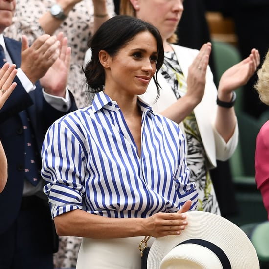 Meghan Markle Tearing Up at Wimbledon 2018