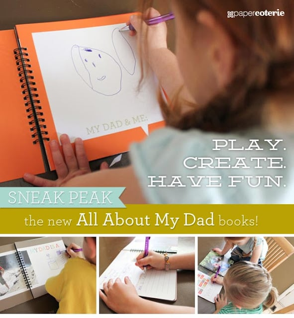 """Paper Coterie's """"All About My Dad"""" ($24 and up)"""