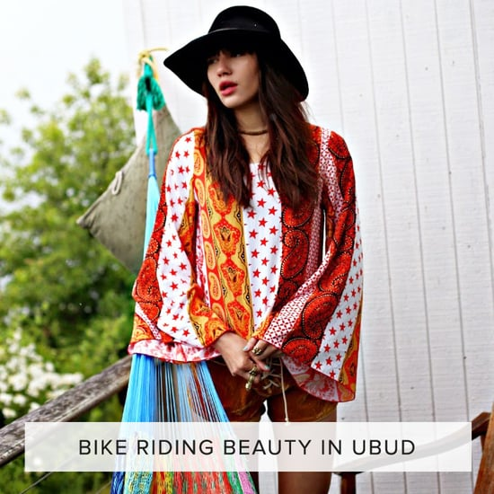 Bike Riding Beauty