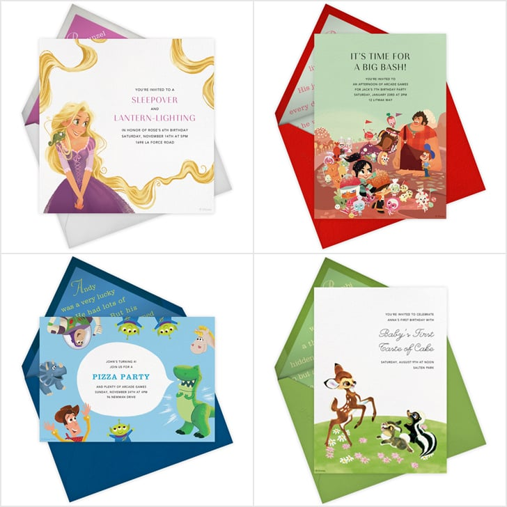 Disney Paperless Post Party Invitations