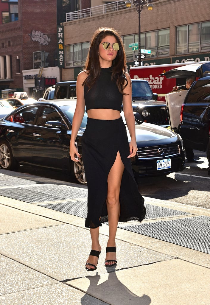 "Selena Gomez has embraced her sexy side more and more over the years, and we love every minute of it — especially when she shows off her abs in  a cute crop top or a dress that shows off her midsection. The 24-year-old loves to motivate her fans to love themselves through her Instagram, so it's no wonder that she embraces rocking her abs for the world to see. Selena has come a long way from her Disney days to now being a ""Bad Liar,"" but she can't lie to us about her sexy abs.       Related:                                                                                                           17 of Selena Gomez's Sexiest Bikini Photos"