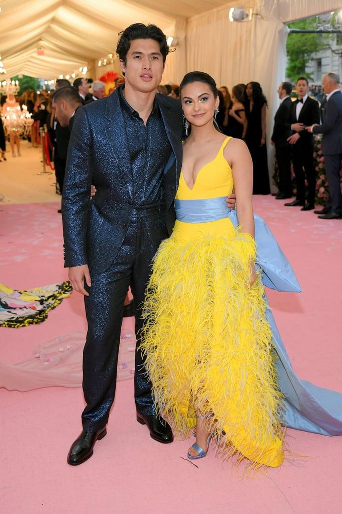 Camila Mendes and Charles Melton at the Met Gala 2019
