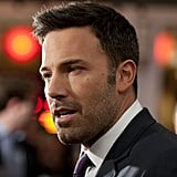 Ben Affleck arrived at his Argo premiere in Washington DC.