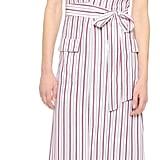 Frame Le Wrap Tie Dress ($429)