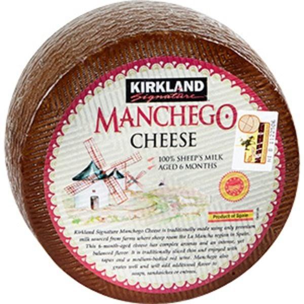 Kirkland Signature Imported Manchego ($9 per pound)