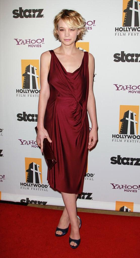 Carey Mulligan in Giles at the 2010 Hollywood Awards Gala