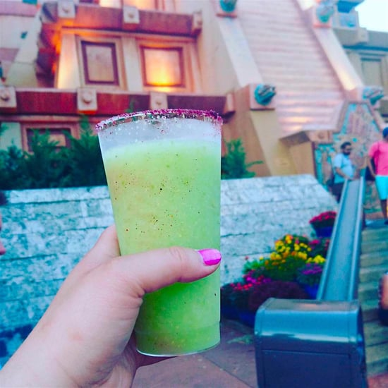 Avocado Margaritas at Disney World Epcot