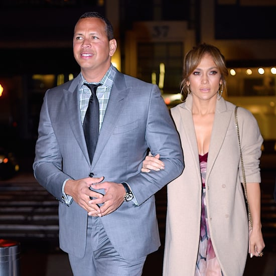 Jennifer Lopez and Alex Rodriguez on Mother's Day 2017