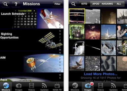 NASA iPhone and iPad App