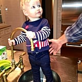 Jessica Simpson celebrated Maxwell hitting 9 months old in February with a cute capture. Source: Twitter user JessicaSimpson