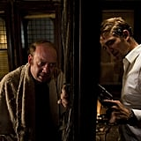 Paul Giamatti and Robert Pattinson in Cosmopolis. Photo courtesy of Alfama Films