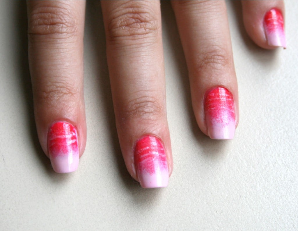 Use A Sponge To Create This Ombr Nail Design Best Nail Art Of