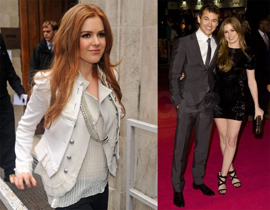 Photos of Isla Fisher and Hugh Dancy at Confessions of a Shopaholic Premiere in London