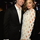 Pictured: Miranda Kerr and Evan Spiegel