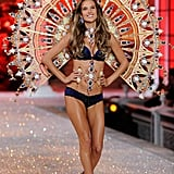 Alessandra Ambrosio in some very opulent wings.