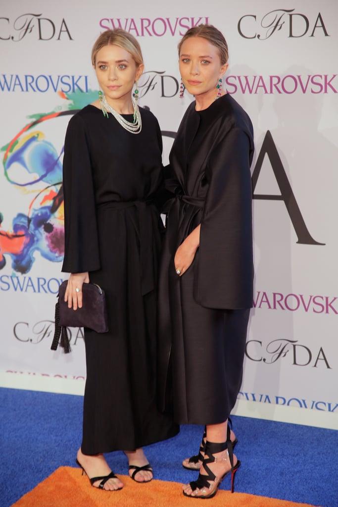 Ashley and Mary-Kate Olsen at the 2014 CFDA Awards