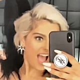 Bebe Rexha Removing Her Long, Black Wig