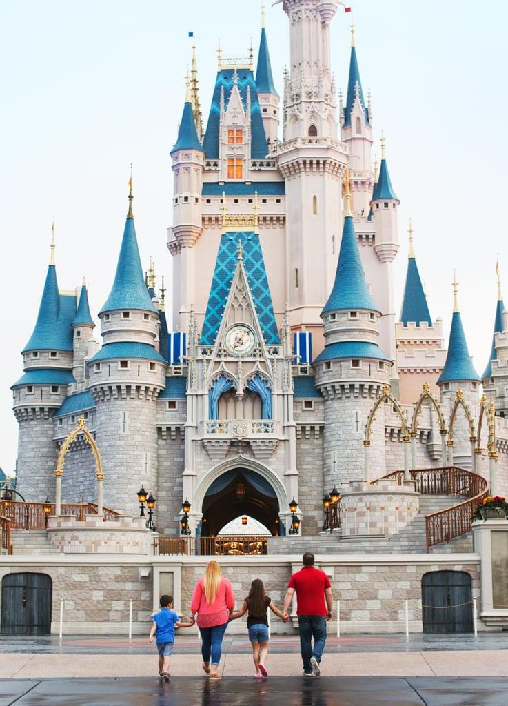At Cinderella Castle