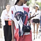 Try a Colorful T-Shirt Dress