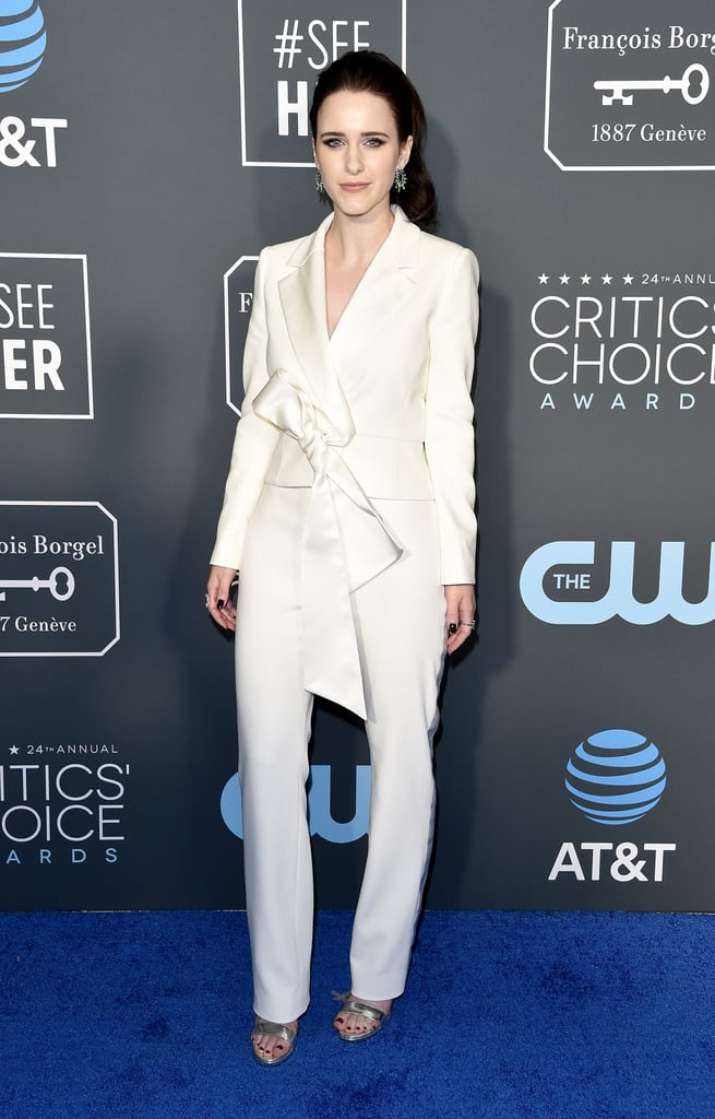 Rachel Brosnahan at the 2019 Critics' Choice Awards