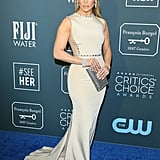 Jennifer Lopez's Champagne Dress at the 2020 Critics' Choice Awards