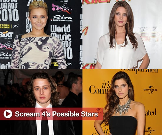 Lake Bell, Hayden Panettiere, Rory Culkin, and Ashley Greene in Talks to Star in Scream 4 2010-05-21 13:30:14