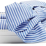 Joshua Sanders Wide-Stripes Bow Slip-On Trainers