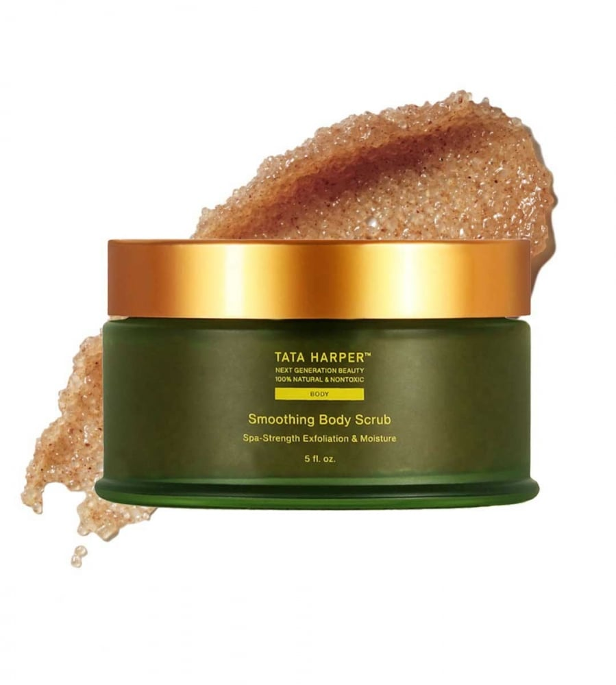 Best Body Scrub: Tata Harper Smoothing Body Scrub