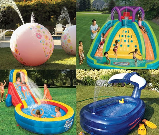 Birthday Party Backyard Ideas water park party | outdoor birthday party ideas | popsugar family