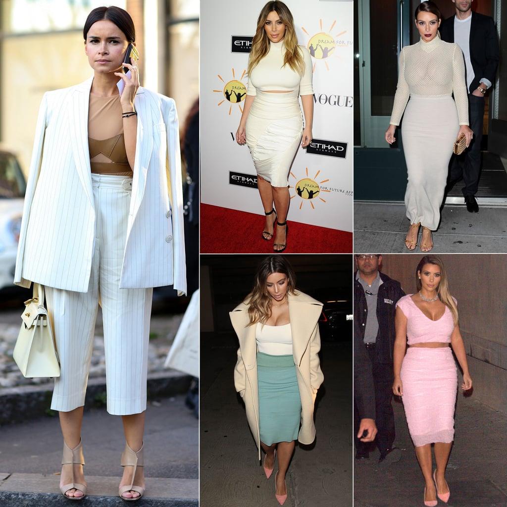 Kim Kardashian And Miroslava Duma Have Similar Style Popsugar Fashion