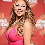 Mariah Carey and Bryan Tanaka at VH1 Divas Holiday 2016